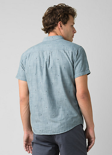 San Martino Shirt - Slim San Martino Shirt - Slim, Nickel Bermuda Chambray