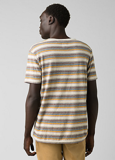 Dustin Short Sleeve Crew Dustin Short Sleeve Crew, Toffee