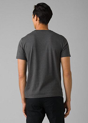 prAna Crew T-Shirt prAna Crew T-Shirt, Charcoal Heather