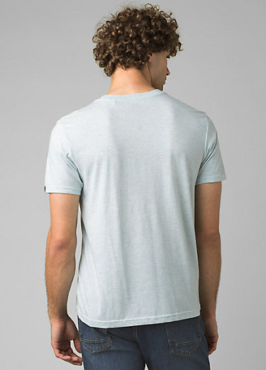 prAna Crew T-Shirt prAna Crew T-Shirt, Ice Blue Heather