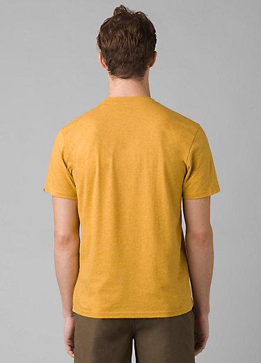 prAna Crew T-Shirt prAna Crew T-Shirt, Marigold Heather