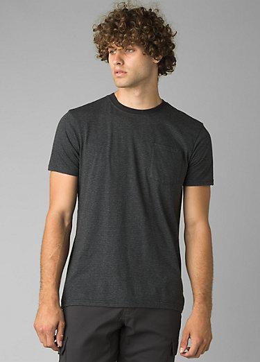 prAna Pocket T-Shirt prAna Pocket T-Shirt, Black Stripe