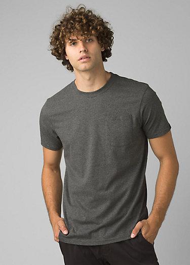 prAna Pocket T-Shirt prAna Pocket T-Shirt, Gravel Heather