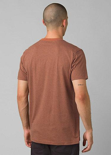 prAna Pocket T-Shirt prAna Pocket T-Shirt, Russet Stripe