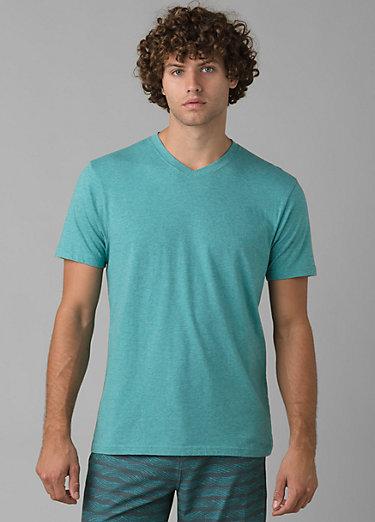 PrAna V-Neck T-Shirt PrAna V-Neck T-Shirt, Azurite Heather