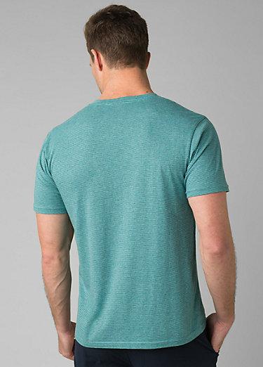 PrAna V-Neck T-Shirt PrAna V-Neck T-Shirt, Azurite Stripe