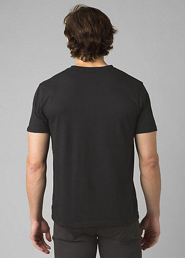 PrAna V-Neck T-Shirt PrAna V-Neck T-Shirt, Black