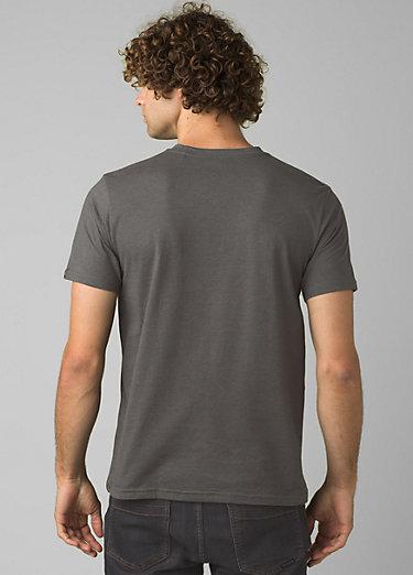 PrAna V-Neck T-Shirt PrAna V-Neck T-Shirt, Charcoal Heather