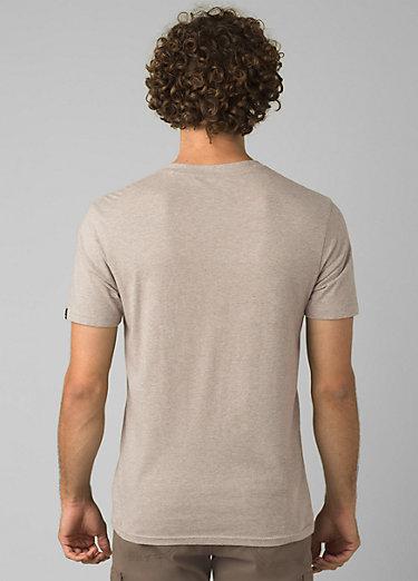 PrAna V-Neck T-Shirt PrAna V-Neck T-Shirt, Dark Khaki Heather