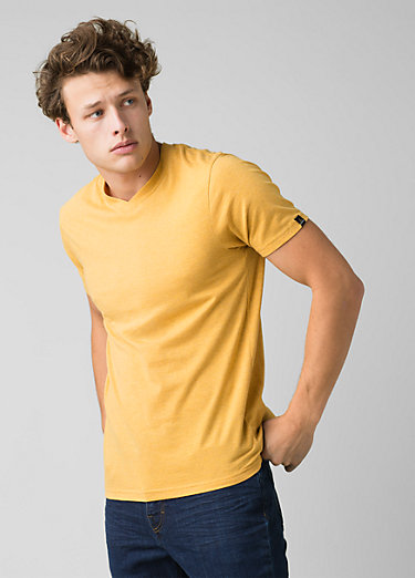 PrAna V-Neck T-Shirt PrAna V-Neck T-Shirt, Marigold Heather