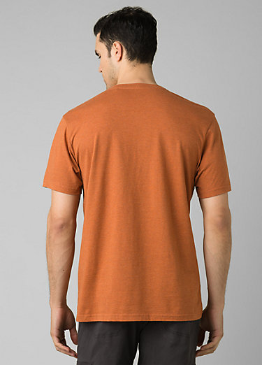 PrAna V-Neck T-Shirt PrAna V-Neck T-Shirt, Russet Heather