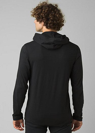 prAna Hooded T-Shirt prAna Hooded T-Shirt, Black