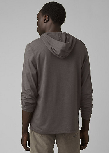 prAna Hooded T-Shirt prAna Hooded T-Shirt, Charcoal Heather
