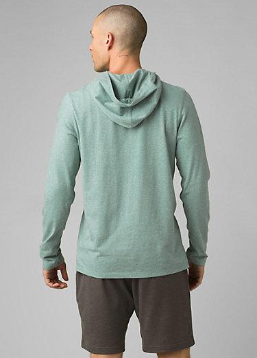 prAna Hooded T-Shirt prAna Hooded T-Shirt, Oasis Heather