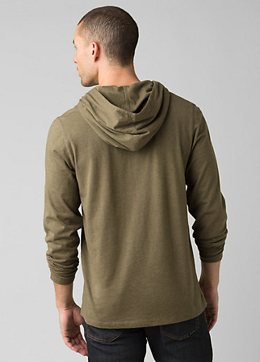 prAna Hooded T-Shirt prAna Hooded T-Shirt, Slate Green Heather