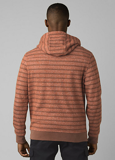Cardiff Fleece Full Zip Cardiff Fleece Full Zip, Cedar Stripe