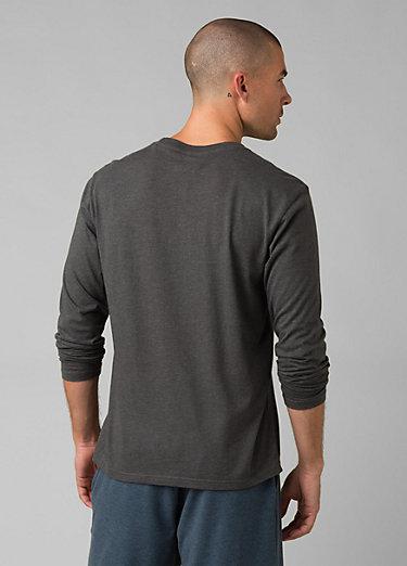 prAna Long Sleeve T-shirt prAna Long Sleeve T-shirt, Charcoal Heather