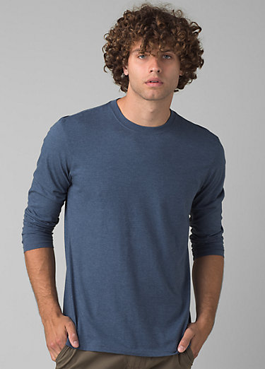 prAna Long Sleeve T-shirt prAna Long Sleeve T-shirt, Denim Heather