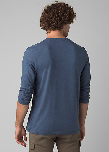 prAna Long Sleeve T-shirt prAna Long Sleeve T-shirt, Denim Heather