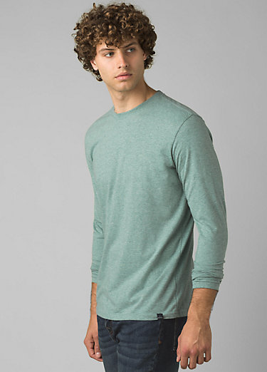 prAna Long Sleeve T-shirt prAna Long Sleeve T-shirt, Oasis Heather