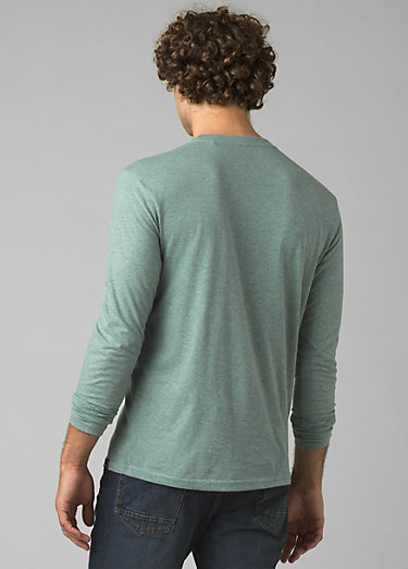 prAna Long Sleeve T-shirt prAna Long Sleeve T-shirt, Oasis Heather