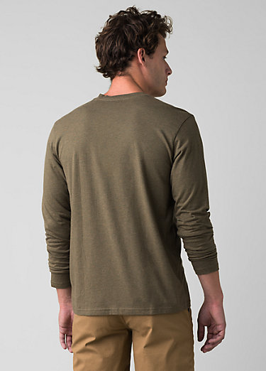 prAna Long Sleeve T-shirt prAna Long Sleeve T-shirt, Slate Green Heather