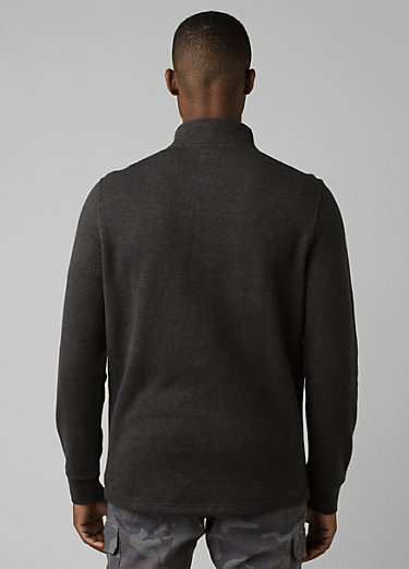 Cardiff 1/4 Zip Cardiff 1/4 Zip, Charcoal Heather