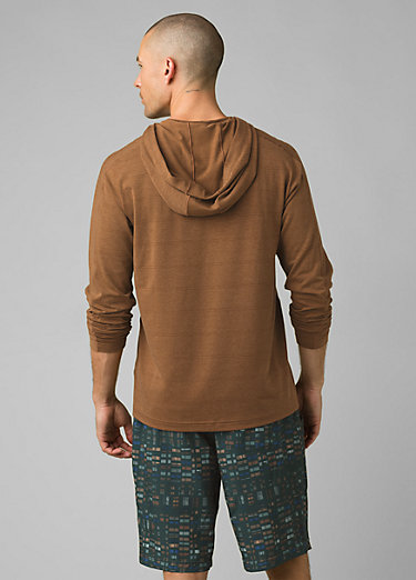 Watchtower Long Sleeve Hoodie Watchtower Long Sleeve Hoodie, Dark Walnut