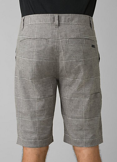 Furrow Short Furrow Short, Gravel Plaid