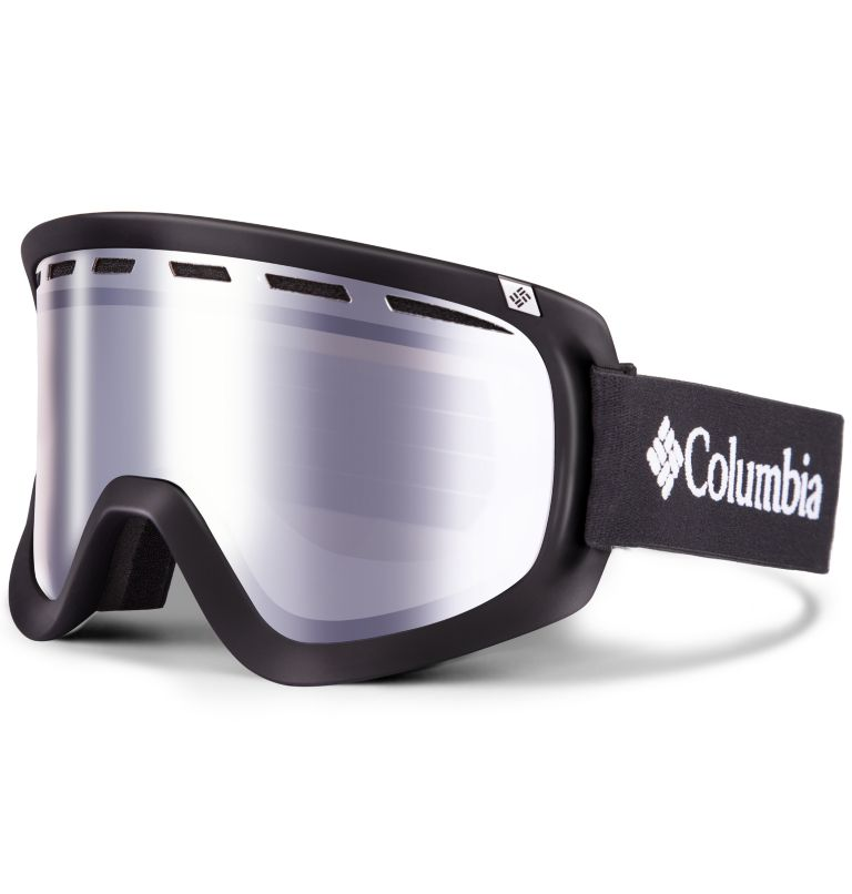Men's Whirlibird C1 Snow Goggle|001|O/S Whirlibird Ski Goggles - Large, Black/White/Silver Ion, front