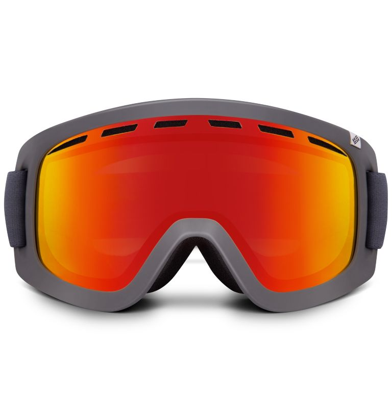 Men's Whirlibird C1 Snow Goggle|200|O/S Whirlibird Ski Goggles - Large, Charcoal/Grey/Red, back