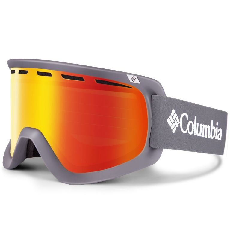 Men's Whirlibird C1 Snow Goggle|200|O/S Whirlibird Ski Goggles - Large, Charcoal/Grey/Red, front