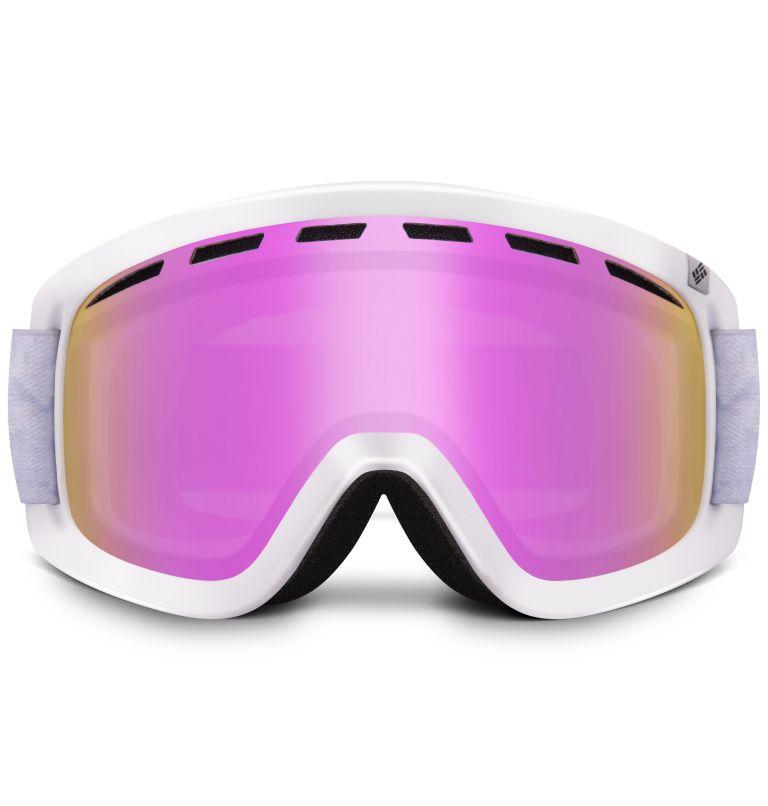Whirlibird Ski Goggles Unisex Medium | 102 | M Whirlibird Ski Goggles - Medium, Continents/Columbia Grey/Pink Ion, back