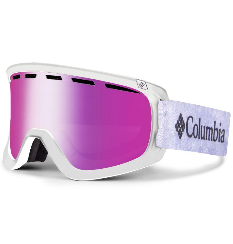 Whirlibird Ski Goggles Unisex Medium | 102 | M Whirlibird Ski Goggles - Medium, Continents/Columbia Grey/Pink Ion, front