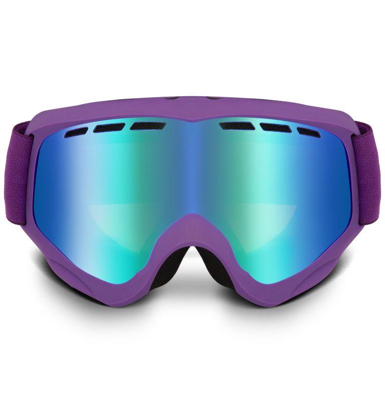 Kids' Whirlibird C3 Snow Goggle|592|O/S Whirlibird Ski Goggles - Small, Iris Glow/Grey/Green Ion, back