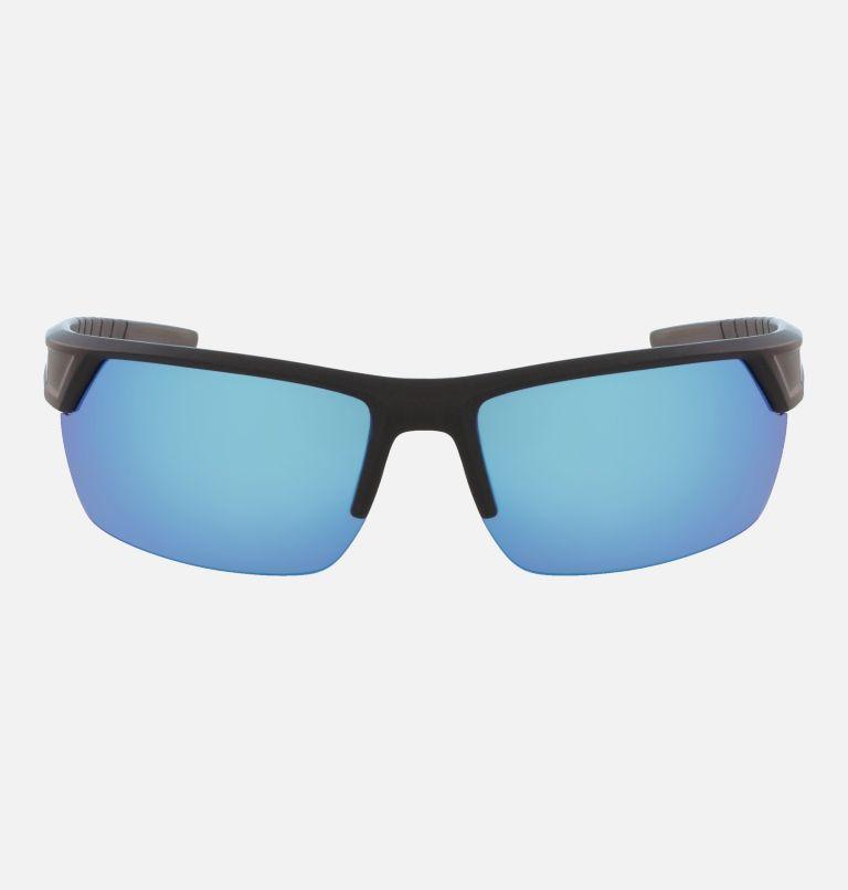 Men's Peak Racer Sunglass | 011 | NONE Men's Peak Racer Sunglasses, Matte Black/Blue Flash Polar, front