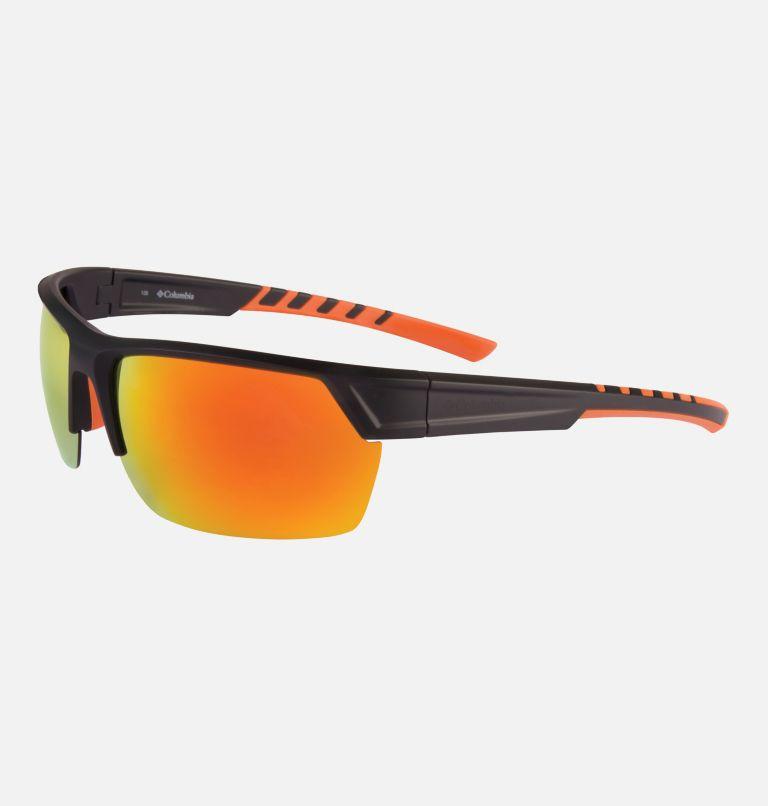 Men's Peak Racer Sunglass   012   NONE Men's Peak Racer Sunglasses, Matte Black/Orange, back
