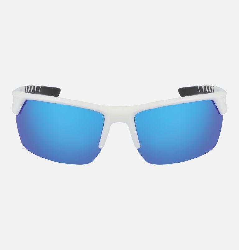 Men's Peak Racer Sunglass | 101 | NONE Men's Peak Racer Sunglasses, White/Blue, front