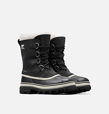 Women's Caribou Boot CARIBOU™ | 051 | 5, Black, Stone, 3/4 front