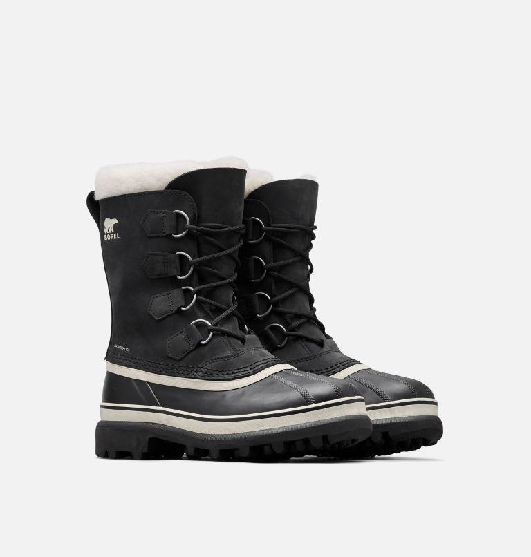 CARIBOU™ | 011 | 12 Women's Caribou® Boot, Black, Stone, 3/4 front