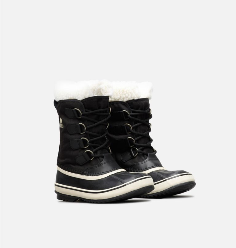 WINTER CARNIVAL™ | 011 | 6 Women's Winter Carnival™ Boot, Black, Stone, 3/4 front