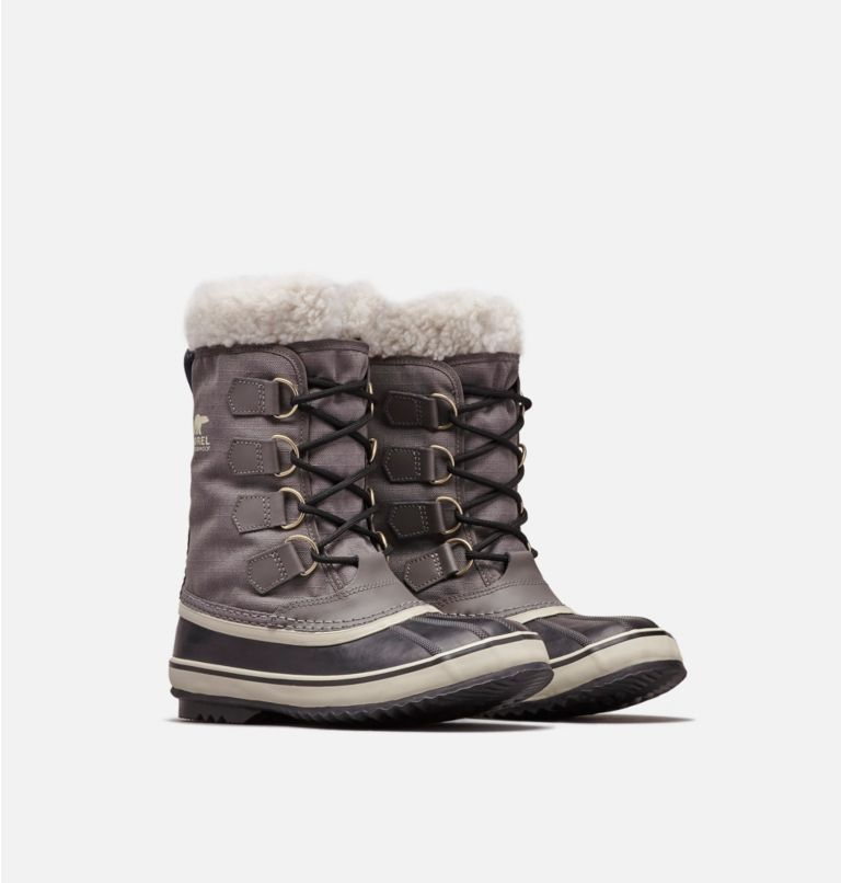 WINTER CARNIVAL™ | 035 | 9 Women's Winter Carnival™ Boot, Pewter, Black, 3/4 front