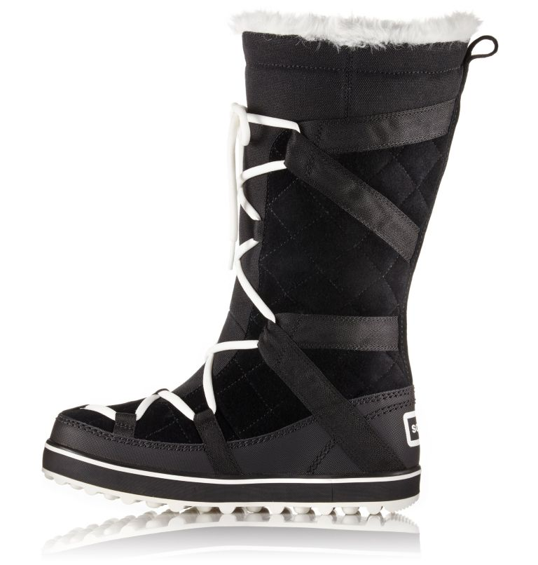 GLACY™ EXPLORER | 012 | 10.5 Women's Glacy™ Explorer Boot, Black, medial