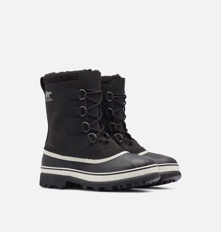 CARIBOU™ | 016 | 14 Men's Caribou™ Boot, Black, Dark Stone, 3/4 front