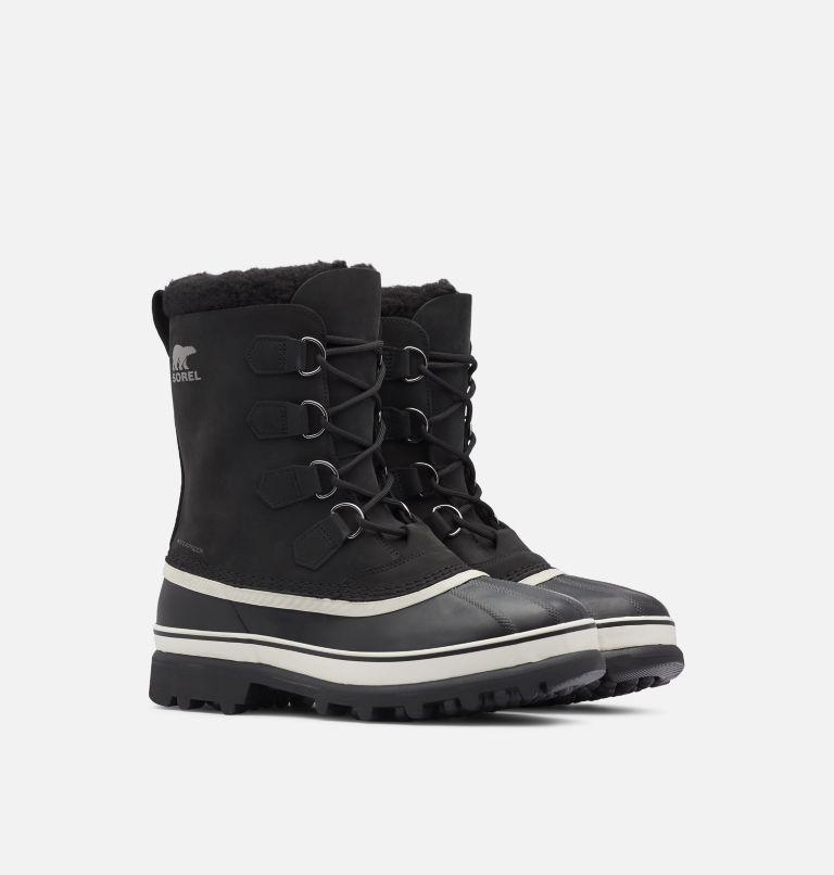 CARIBOU™ | 016 | 11.5 Men's Caribou™ Boot, Black, Dark Stone, 3/4 front
