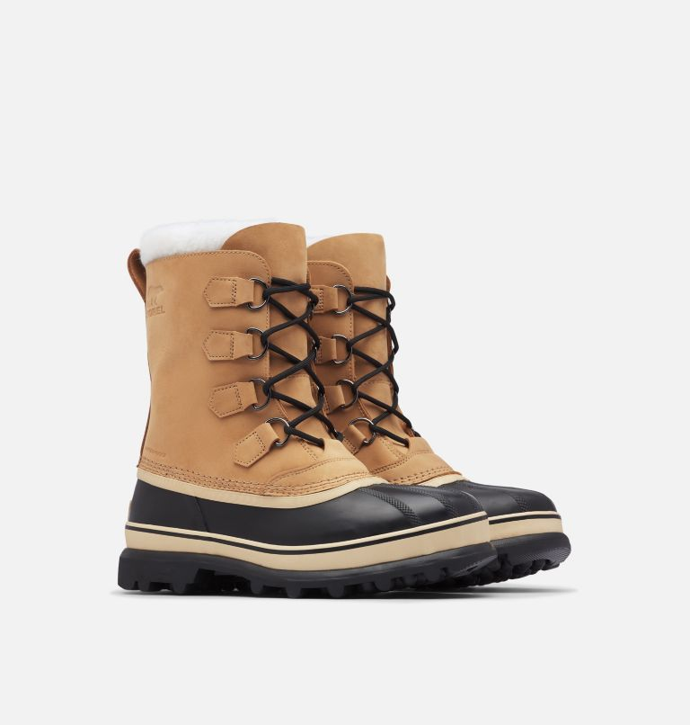 CARIBOU™ | 281 | 8 Men's Caribou™ Boot, Buff, 3/4 front