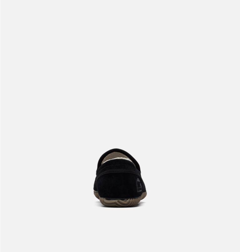 SOREL DUDE MOC™   011   11 Men's Dude Moc™ Slipper, Black, Black, back