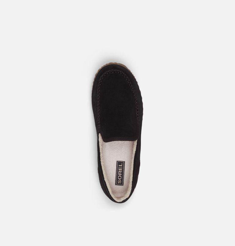 SOREL DUDE MOC™   011   11 Men's Dude Moc™ Slipper, Black, Black, top