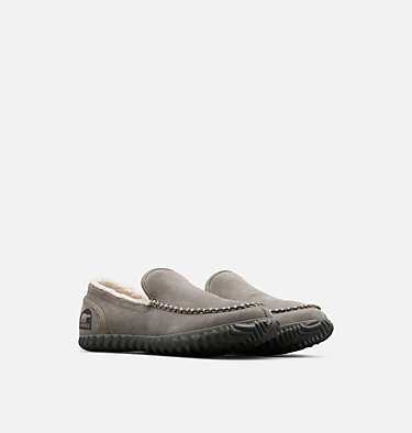 Men's Dude Moc™ Slipper SOREL DUDE MOC™ | 053 | 10, Quarry, 3/4 front