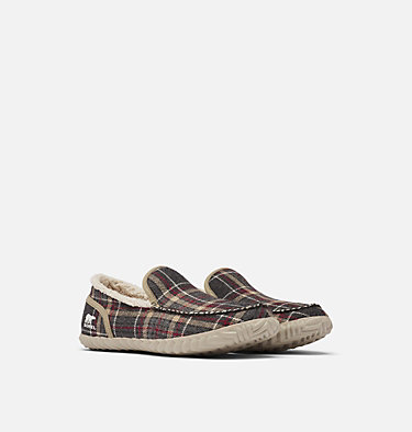 Men's Dude Moc™ Slipper SOREL DUDE MOC™ | 053 | 10, Ancient Fossil, 3/4 front